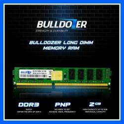 RAM BULLDOZER LONGDIMM DDR3 2GB PC 12800