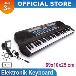Mainan Musikal Elektronik Organ Keyboard 54 Keys Mainan Anak-HS-5421
