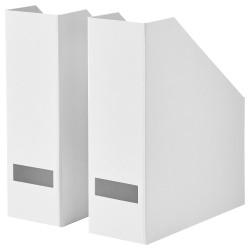 2 Pcs Box File Majalah Putih IKTjena Box File White 30x25x10