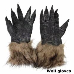 CAKAR SERIGALA, WOLF CLAW dan jubah dan topeng serigala foam