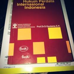 Pengantar Hukum Perdata Internasional Indonesia Prof Dr S Gautama SH