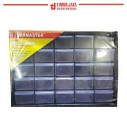 Rak / Kotak Komponen 25 Slot ( Partisi) KENMASTER