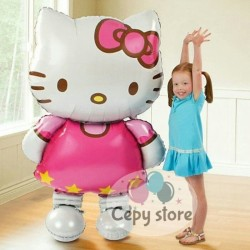 Balon foil hello kitty big size / hello kitty jumbo
