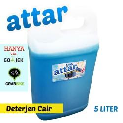 KHUSUS GoSend / GRAB - Sabun Deterjen Cair ATTAR 5 Liter