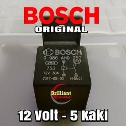 Relay Bosch 12v kaki 5