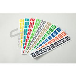 Spectrum Label Code Numeric (Label angka ) - 0 s/d 9