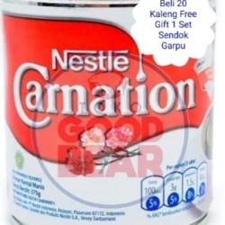 Susu Kental Manis Carnation Eceran 370gram Beli 20 Free Sendok Garpu