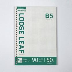 Bookpaper B5 Loose Leaf - DOTTED by Bukuqu