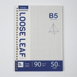 Bookpaper B5 Loose Leaf - GRID by Bukuqu