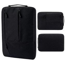 Tas Laptop 14 inch Jinjing Pocket sleeve / soft case Waterproof Black
