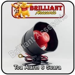 Toa Alarm - Sirine Alarm 6Suara