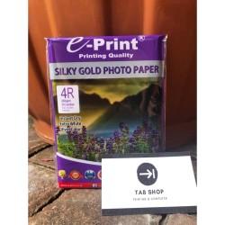 SILKY GOLD PHOTO PAPER 4R KERTAS FOTO