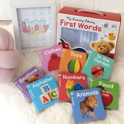 My Learning Library First Words (8 Board Books)