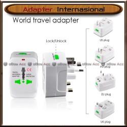 Adapter Internasional Travel Adaptor Universal Colokan Charger UK USA