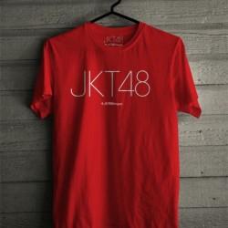 Kaos JKT48 Merah Mendatar