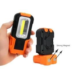 Alat Penerang Senter Camping Lampu LED Portable Gantung Magnet COB