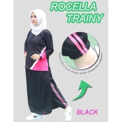Rocella Trainy Rok Celana Olahraga Muslimah Trendy (S-M & L-XL)