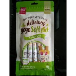 Delicoius Yogo Soft Stick - Dog Wet Food (12grx6pcs) per pack