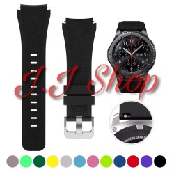 Samsung Gear S3 Classic Frontier Strap Silicone Sport Band Termurah