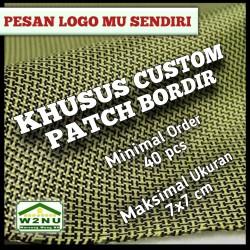 KHUSU CUSTOM PATCH / BORDIR LOGO / BEDGE / ATRIBUT / EMBLEM
