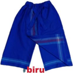 sarung celana anak 5-12tahun - Biru, 10-12tahun