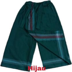 sarung celana anak 5-12tahun - Hijau, 8-9 tahun