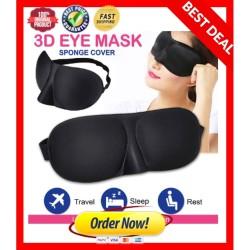 Penutup Mata Tidur Anti Silau Insomnia / Sleep eye Mask 4D anti PANAS