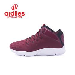 Ardiles Men Sedona Sepatu Basket - Maroon Hitam - Maroon Hitam, 39