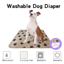 Alas Pipis Kencing Anjing Kucing Reusable Perlak Pet Pee Poop Underpad