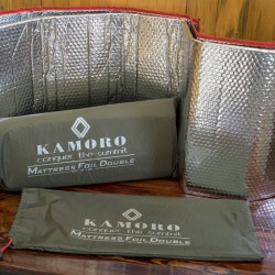 matras alumunium foil bolak balik 100 X 200 cm merk kamoro