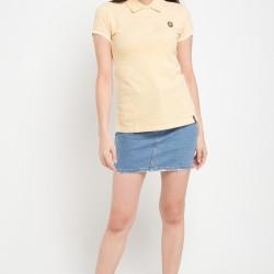 X8 Jocelynn Polo Shirts (Yellow)