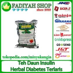 Teh Daun Insulin yakon penggempur diabetes diabets