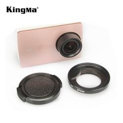 UV Filter 37mm + Lens Cap KINGMA for Xiaomi Yi dan Yi2 4K Camera