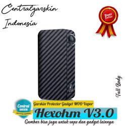 (Centralgarskin) Garskin Hexohm V3 Black Carbon
