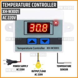 Digital Thermostat, Temperature Controller, XH-W3001, 220V AC
