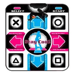 Nendo Karpet Matras DDR Dance Anti Slip USB RCA Pad Putih