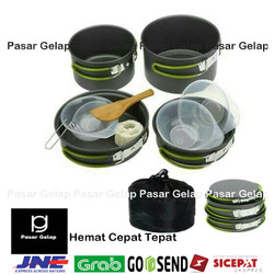 Cooking Set Ds 301 nesting panci camping
