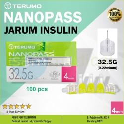 JARUM INSULIN Terumo NanoPass - 32.5G (0.22x4mm)