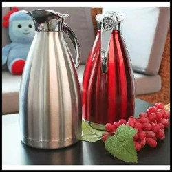 Teko Pinguin Stainless Steel Thermos Vacuum Air Panas 2 Liter