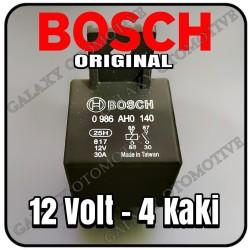 Relay Bosch 12v kaki 4