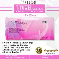 T-Towel Wash Gloves 15 x 25 cm/ Pcs