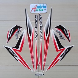 Sticker Striping Motor Honda Revo FI 2015 Putih