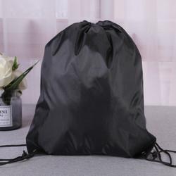 FREEKNIGHT Tas Serut Polos String Bag Tas Anti Air Tas Serut TR105 - Hitam