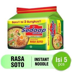 Sedaap Mie Instan Soto Bag x 5 pcs