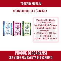 Kitab Tauhid 1 Set ( 3 Buku ) - Dr. Shalih Bin Fauzan Bin Abdullah Al-