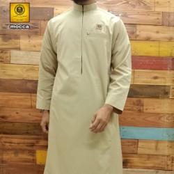 Gamis jubah pria lengan panjang al amwa / jubah ikhwan-pria al amwa