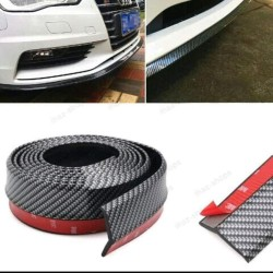 Pelindung Bemper SAMURAI Car Lips Bumper Karet Carbon Mobil 3D