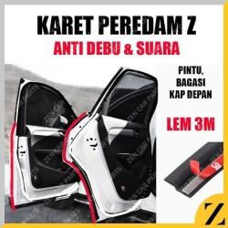 Karet Peredam Pintu Mobil Peredam Suara Kabin Anti Bising model Z