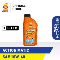 Oli Motor Matik TOP 1 ACTION MATIC SAE 10W-40 | 1 Liter