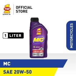 Oli Motor TOP 1 SMO MC 20W-50 | 1 Liter
